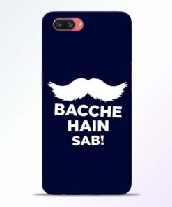 Bacche Hain Sab Oppo A3S Mobile Cover