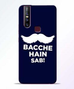 Bacche Hain Sab Vivo V15 Mobile Cover