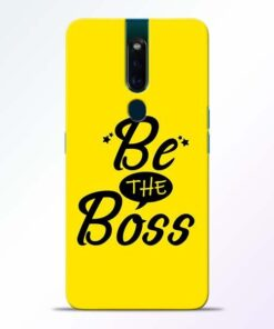 Be The Boss Oppo F11 Pro Mobile Cover