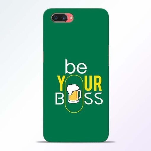 Be Your Boss Oppo A3S Mobile Cover