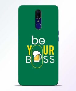 Be Your Boss Oppo F11 Mobile Cover