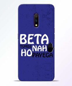 Beta Tumse Na Realme X Mobile Cover