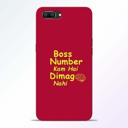 Boss Number Realme C1 Mobile Cover