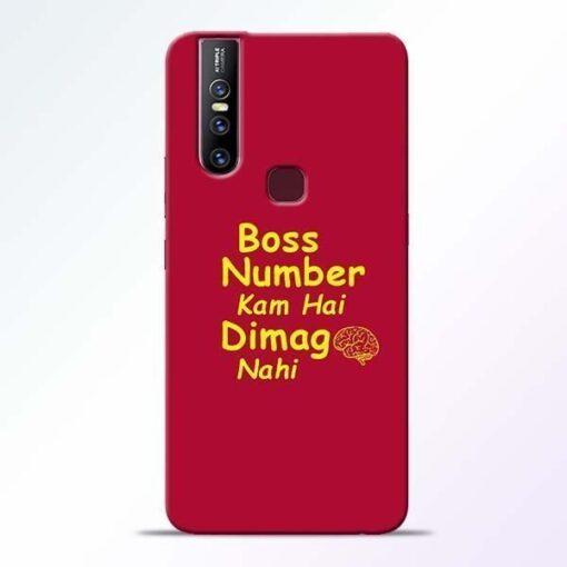 Boss Number Vivo V15 Mobile Cover