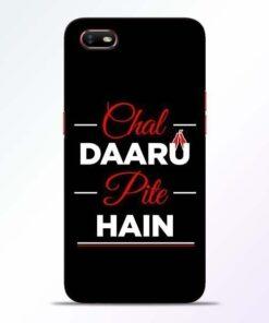 Chal Daru Pite H Oppo A1K Mobile Cover