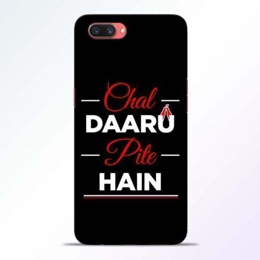 Chal Daru Pite H Oppo A3S Mobile Cover