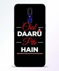Chal Daru Pite H Oppo F11 Mobile Cover