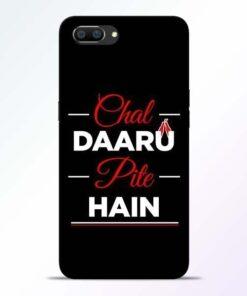 Chal Daru Pite H Realme C1 Mobile Cover