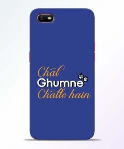 Chal Ghumne Oppo A1K Mobile Cover
