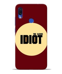 Clever Idiot Redmi Note 7S Mobile Cover