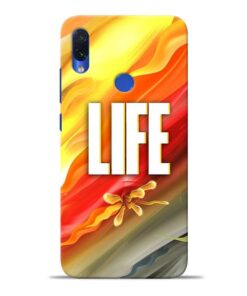 Colorful Life Redmi Note 7S Mobile Cover