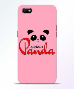 Curious Panda Oppo A1K Mobile Cover