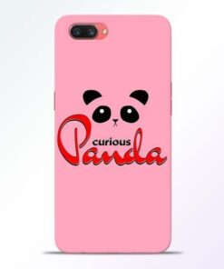 Curious Panda Oppo A3S Mobile Cover