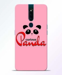 Curious Panda Oppo F11 Pro Mobile Cover