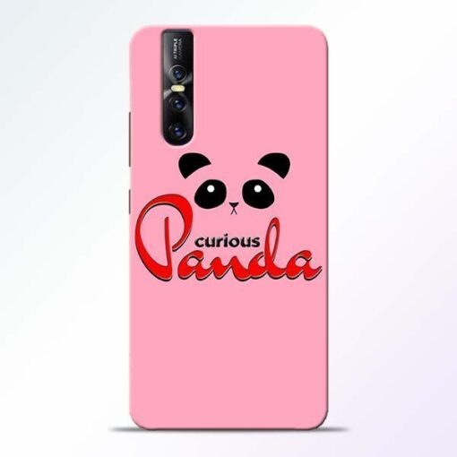 Curious Panda Vivo V15 Pro Mobile Cover