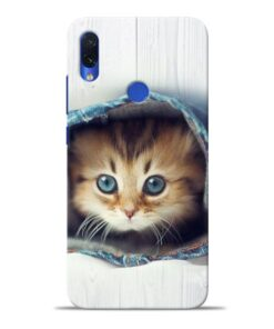 Cute Cat Redmi Note 7S Mobile Cover