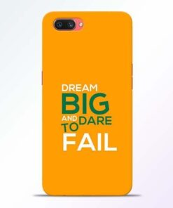 Dare to Fail Oppo A3S Mobile Cover
