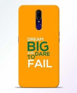 Dare to Fail Oppo F11 Mobile Cover