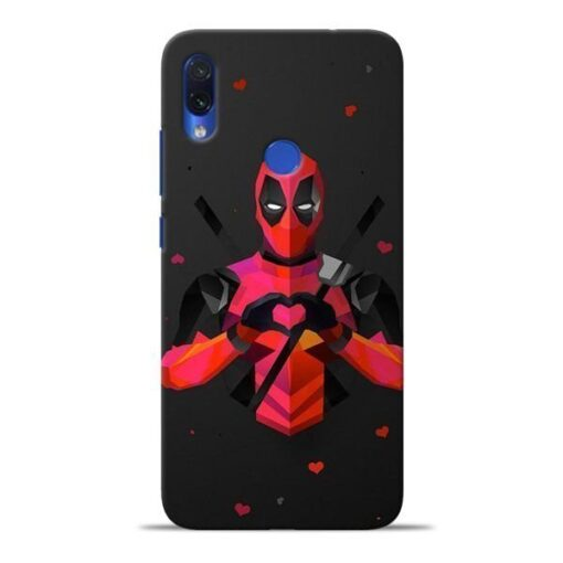 DeedPool Cool Redmi Note 7S Mobile Cover