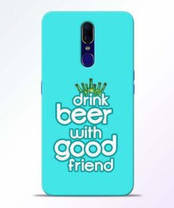Drink Beer Oppo F11 Mobile Cover
