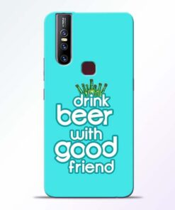 Drink Beer Vivo V15 Mobile Cover