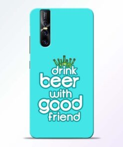 Drink Beer Vivo V15 Pro Mobile Cover
