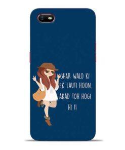 Ek Lauti Hoon Oppo A1K Mobile Cover
