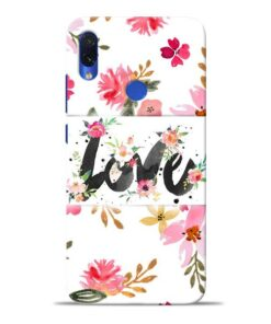 Flower Love Redmi Note 7S Mobile Cover