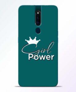 Girl Power Oppo F11 Pro Mobile Cover