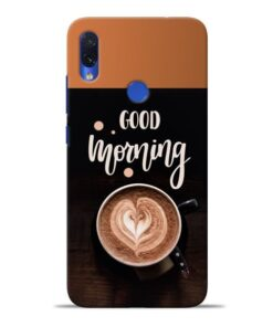 Good Morning Redmi Note 7S Mobile Cover