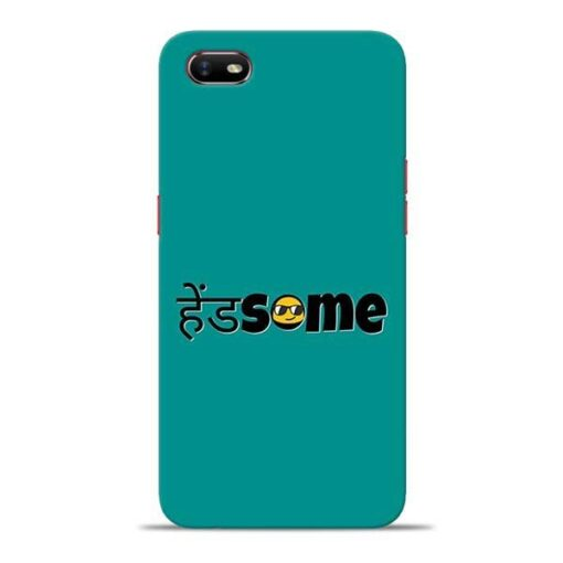 Handsome Smile Oppo A1K Mobile Cover