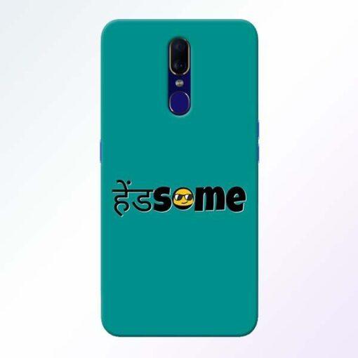 Handsome Smile Oppo F11 Mobile Cover