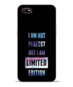 I Am Not Perfect Oppo A1K Mobile Cover