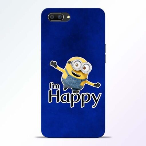 I am Happy Minion Realme C1 Mobile Cover