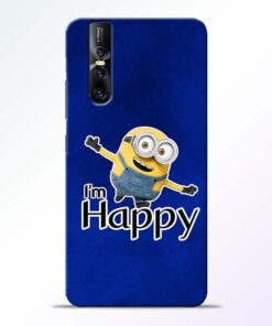 I am Happy Minion Vivo V15 Pro Mobile Cover