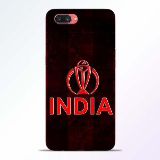 India Worldcup Oppo A3S Mobile Cover
