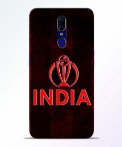 India Worldcup Oppo F11 Mobile Cover