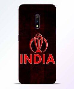 India Worldcup Realme X Mobile Cover
