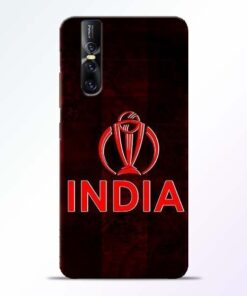 India Worldcup Vivo V15 Pro Mobile Cover