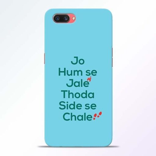 Jo Humse Jale Oppo A3S Mobile Cover