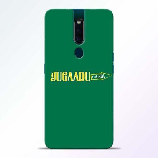 Jugadu Launda Oppo F11 Pro Mobile Cover