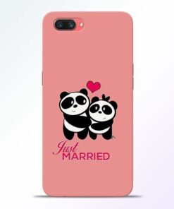 Just Married Oppo A3S Mobile Cover