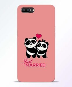 Just Married Realme C1 Mobile Cover