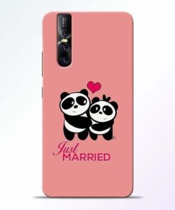 Just Married Vivo V15 Pro Mobile Cover