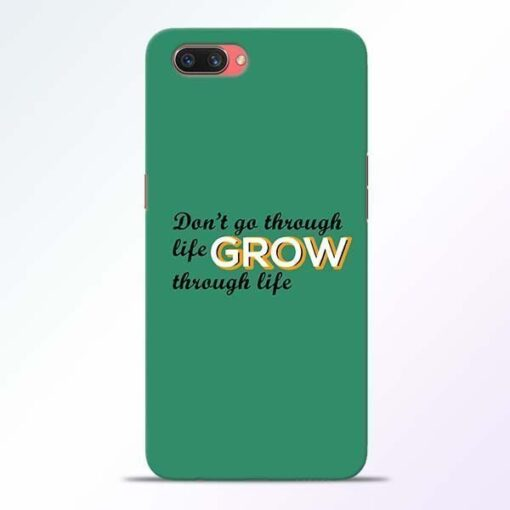 Life Grow Oppo A3S Mobile Cover