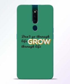 Life Grow Oppo F11 Pro Mobile Cover