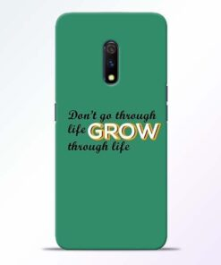 Life Grow Realme X Mobile Cover