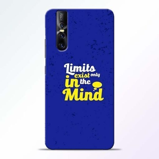 Limits Exist Vivo V15 Pro Mobile Cover