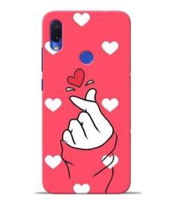 Little Heart Redmi Note 7S Mobile Cover