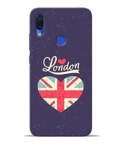 London Redmi Note 7S Mobile Cover